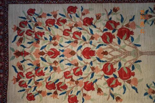 Ovanlig vacker Persisk Bakhtiari Chalshoter 207x 152 cm.