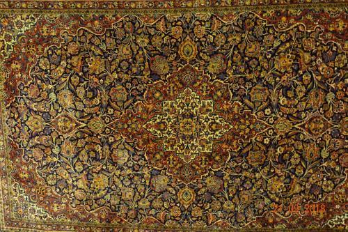 Antik Keshan ,en fantastisk matta ca 200x300 cm bör ses!